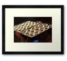 The Art of Bagel Making Framed Print