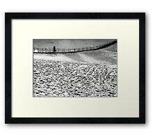 1985 - on the move Framed Print