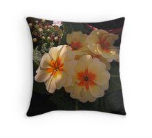 Romantic blooms. Throw Pillow