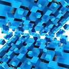 3D Abstract Background by Bruno Beach