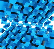 3D Abstract Background by Atanas NASKO