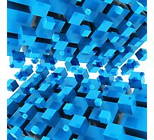 3D Abstract Background Photographic Print
