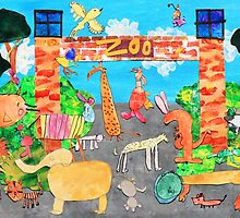Melbourne Zoo by katandraschool