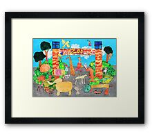 Melbourne Zoo Framed Print