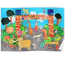 Melbourne Zoo Poster