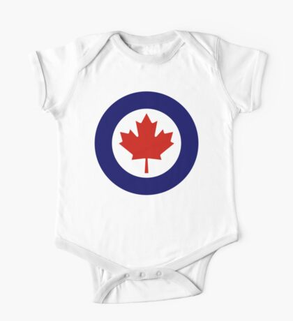 Royal Canadian Air Force Insignia One Piece - Short Sleeve