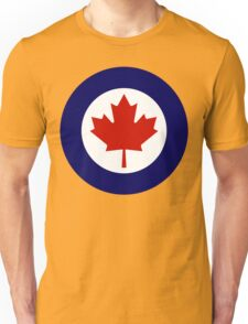 Royal Canadian Air Force Insignia Unisex T-Shirt
