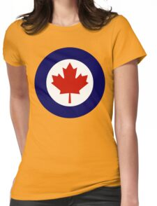 Royal Canadian Air Force Insignia Womens Fitted T-Shirt