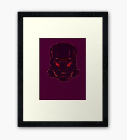 DarkZone Framed Print