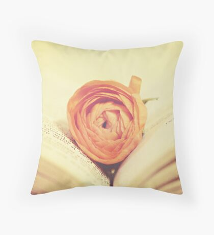 Two things I love Throw Pillow