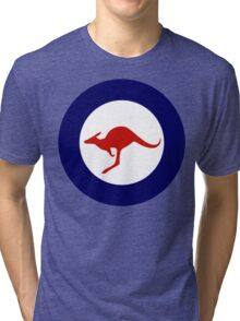 Royal Australian Air Force Insignia Tri-blend T-Shirt