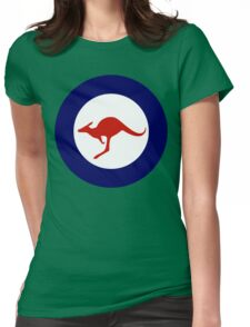 Royal Australian Air Force Insignia Womens Fitted T-Shirt