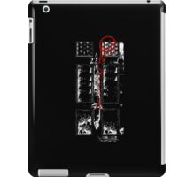 Smile! You're at 221B - red, gritty iPad Case/Skin