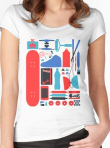 Chose Your Weapons Women's Fitted Scoop T-Shirt
