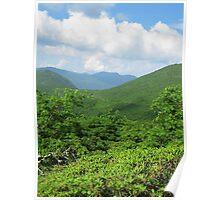 Mountains and Sky - Blue Ridge Poster