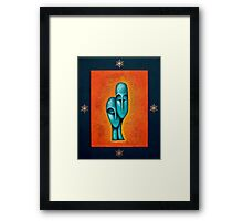 Devotion-A Couple in Love Framed Print