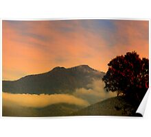 Early Morning...Low Clouds Poster