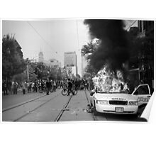 Burning Cruiser - G20, Toronto Poster