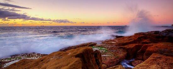 Splatter - Little Bay by Mark  Lucey