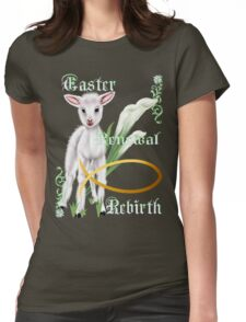 Easter-Renewal-Rebirth Womens Fitted T-Shirt