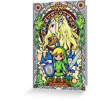 The Legend of Zelda: Wind Waker Greeting Card