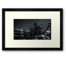 Industrial Mill Framed Print
