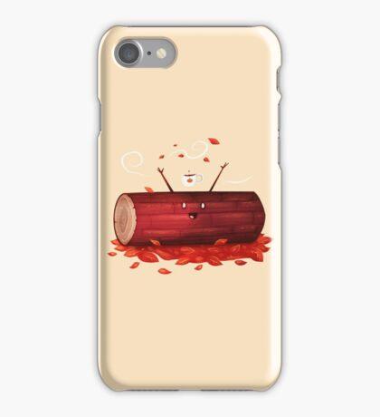 Pumpkin Spice Log(tte) iPhone Case/Skin