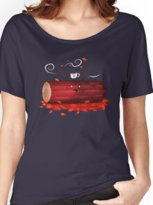 Pumpkin Spice Log(tte) Women's Relaxed Fit T-Shirt