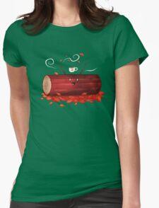 Pumpkin Spice Log(tte) Womens Fitted T-Shirt