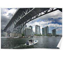 Granville Bridge, Vancouver Poster