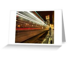 """7th Avenue Phfreeze out...""...(Centre St. Station, Calgary, Alberta, Canada) Greeting Card"