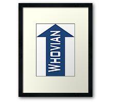Whovian Framed Print