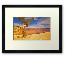 """Alone On The Rim"" Framed Print"