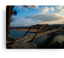 Austin 360 Bridge Canvas Print