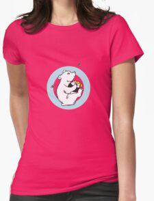 Honeybear T-shirt Womens Fitted T-Shirt