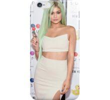 Kylie Jenner Green Hair  iPhone Case/Skin