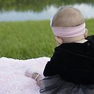 Baby by the Lake by Laurie Perry