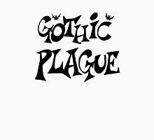 Gothic Plague: Black w/ Bats Unisex T-Shirt