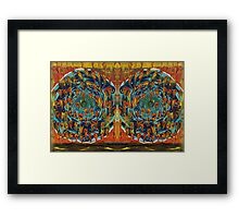 Vortex To Hell Mirror Framed Print