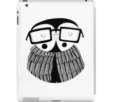 The wise owl iPad Case/Skin
