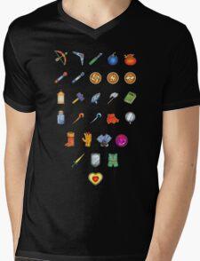 Zelda Inventory Mens V-Neck T-Shirt