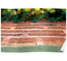 Bricks and Ivy - Wrigley Field Poster