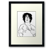 Chief Keef Framed Print