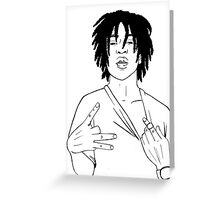 Chief Keef Greeting Card