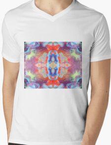 Scarab Dawn (Spiderweb Jasper) Mens V-Neck T-Shirt