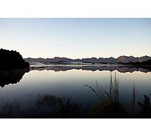 Edgar Dam Sunrise, Tasmania, Australia Photographic Print