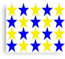 Stars ( retro ) Canvas Print