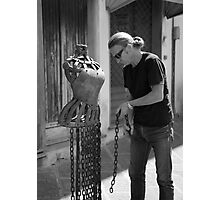 peoplescapes #291, chained Photographic Print