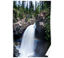 Canadian Waterfall Poster