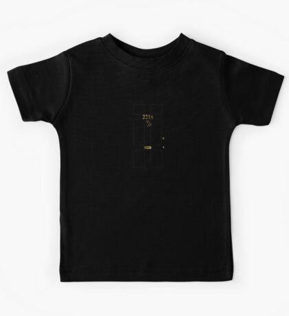 221B - turned knocker Kids Tee